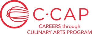 Proud supporter of the C.CAP Careers Through Culinary Arts Program